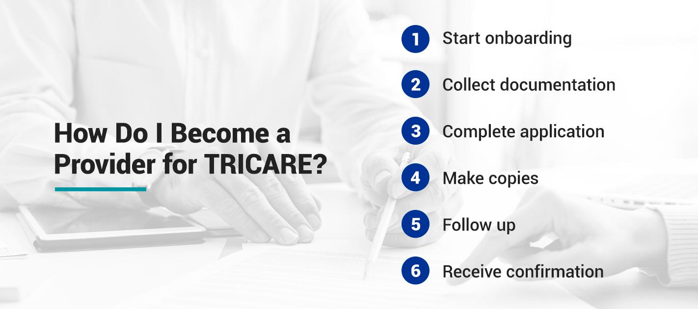 How Do I Become a Provider for TRICARE?