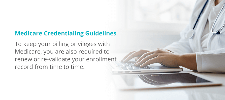 Medicare Credentialing Guidelines